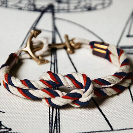 "KIEL JAMES PATRICK - Triton collection Rope Bracelets— ""Nantucket Shoal"""