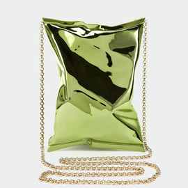 ANYA HINDMARCH - Crisp Packet/Metal in Green