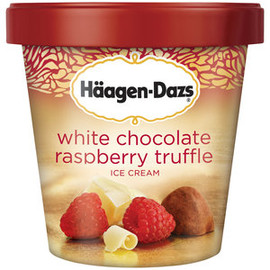 Haagen-Dazs - Haagen-Dazs White Chocolate Raspberry Truffle Ice Cream, 14 fl oz