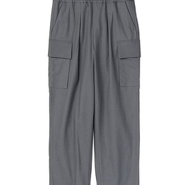 Graphpaper - Wooly Cotton Easy Military Pants