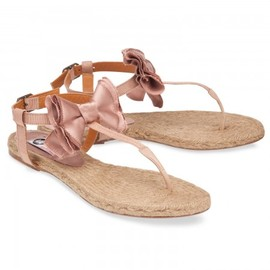 LANVIN - satin sandals