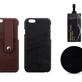 BRC - The Leather HandiCase with Qi Charger for iPhone 6/6 Plus