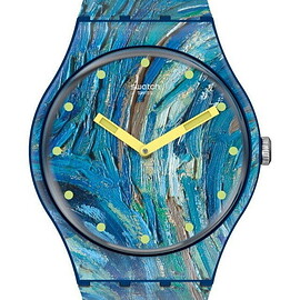 Swatch, Vincent Van Gogh, MoMA - The Starry Night by Vincent Van Gogh