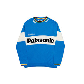 Palace skateboards - PALASONIC KNIT BLUE / WHITE / MULTI