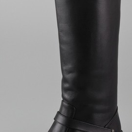 JIL SANDER NAVY - COLORED SOLE BOOTS