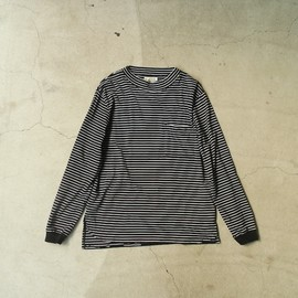 Back Alley Old Boys - fly front L/S border Tee