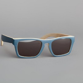 Waiting For The Sun - Lunettes de soleil Solid Bleu