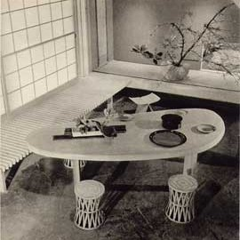 Charlotte Perriand - Table and Bench