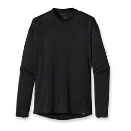 Patagonia - Capilene 4 Expedition Weight Crew / Black