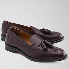 Brooks Brothers - Smooth calfskin leather uppers. Leather lining and soles. Made in USA.
