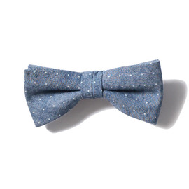 SOPHNET. - BOW TIE (INDIGO DOT/CHAMBRAY)