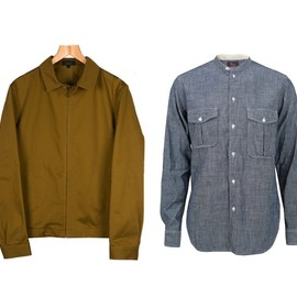 A.P.C. - jacket woolrich shirt A.P.C JACKET + WOOLRICH SHIRT | START LONDON UP TO 70% SALE