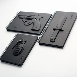 MEGAWING - Black 4 Notebook