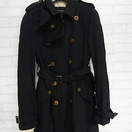 COMME des GARCONS HOMME PLUS - 2011-2012 A/W エステル縮絨トレンチコート