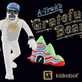 kidrobot - A-Trak x Dust La Rock x Kid Robot Grateful Bear
