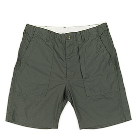 Engineered Garments - Fatigue Short Cotton Ripstop Olive