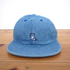 LQQK STUDIO - Cat Hat (Faded Denim)