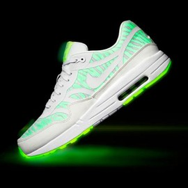 Nike - NIKE AIR MAX 1 PREMIUM TAPE WHITE/GETSER GREY-LAB GREEN