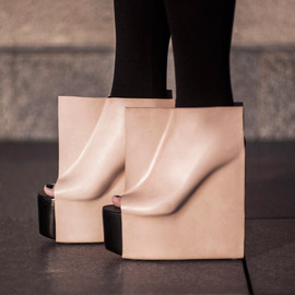 Rectangle shoes by Maria Nina Vaclavek