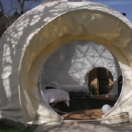 Glamping at Dome Garden Europe Shows the way to Glamping, Camping with a Touch of Glamour