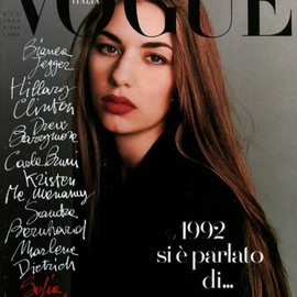 Vogue Italia - Sofia Coppola / Vogue Italia / 1992