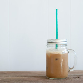 Mason - ReUsable To-Go Cup and Straw with Handle