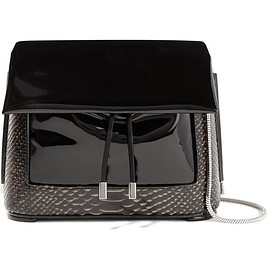 3.1 Phillip Lim - Hana patent and snake-effect leather shoulder bag