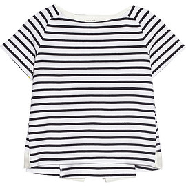 sacai luck - striped cotton-jersey T-shirt
