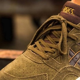 asics - Gel-Lyte V - Olive/Dark Brown