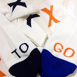 "TOXGO - X SOCK 2nd Color""NYC"""