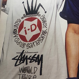 Stussy - i-D Project Tee - White