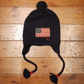 POLO RALPH LAUREN - Ear flap beanie