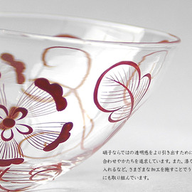 Higashiyama - Glass Bowl