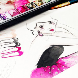 Paper Fashion X NYFW Fashion Illustrations - _
