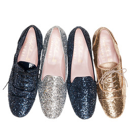 Pretty Ballerinas x MUVEIL - glitter shoes
