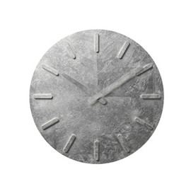 ±0 - Wall Clock Silver Leaf