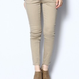 CHEAP MONDAY - Ankle Chino Beige