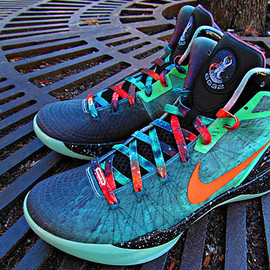 Nike - Nike Zoom Hyperdunk 2011 Supreme Galaxy   Blake Griffin All Star Game PE