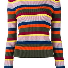 House Of Holland - striped knit jumper