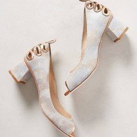 Anthropologie - Stem-Cut Heels
