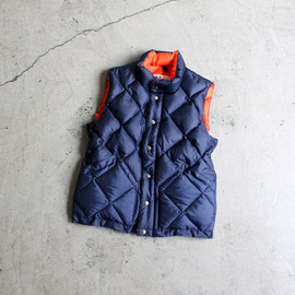 Cresent Down Works - Italian Quilting Vest -ナイモノねだり-