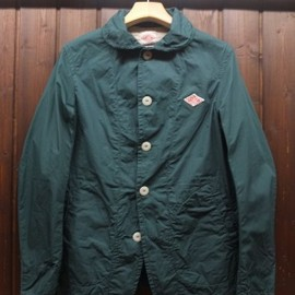 DANTON - ROUND COLLAR JACKET D.Green