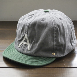 DECHO - BALL BACKLE CAP-A- ♯GRAY