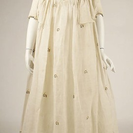 Dress, late 1790's US or continental Europe