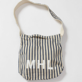 MHL. - HERRIONBONE STRIPE BAG