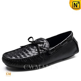 cwmalls - CWMALLS Mens Leather Driving Loafers CW706160