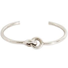 Brass and Sterling Silver Toggle Bracelet