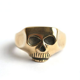 Flash Point - 18K GOLD JIM SKULL RING