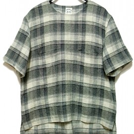 SUNSEA - Check Pull Over Shirt