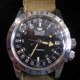 GLYCINE AIRMAN SPECIAL - GMT